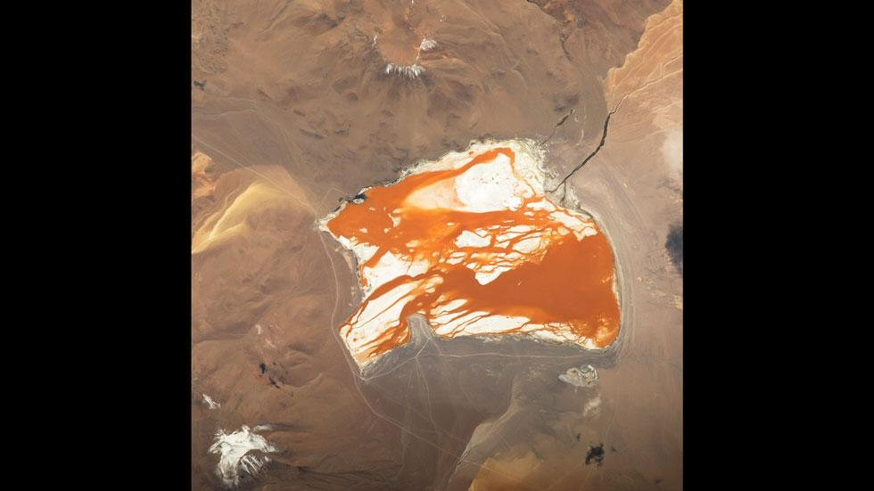 Laguna Colorada, Bolivia — Expedición 43 (16 de abril)