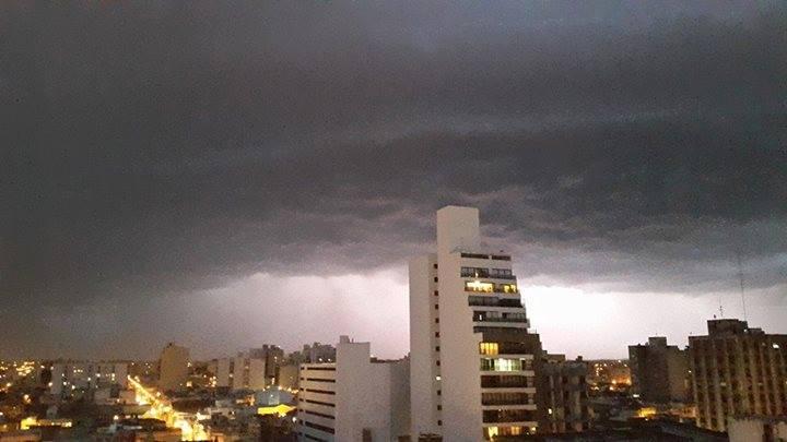 Granizo en San Luis y tormenta en Río Cuarto, Córdoba ...