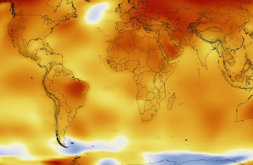 Confirmado: 2016, récord de temperatura global